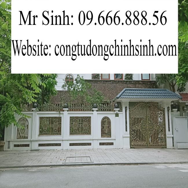 cổng nhôm đúc - C00155