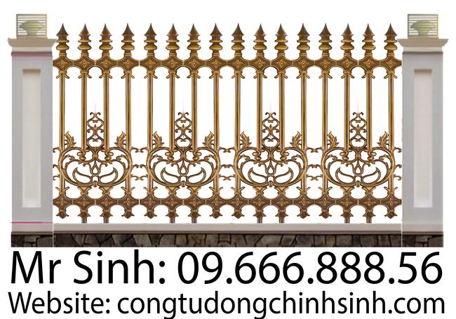 Hàng rào nhôm đúc - HR0072