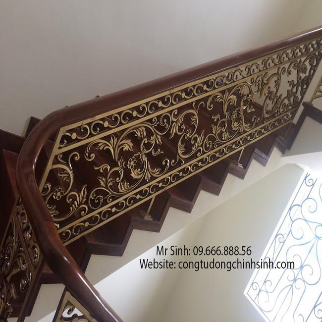 Cầu thang nhôm đúc - CT005