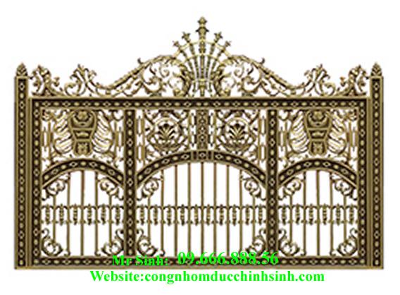 Hàng rào nhôm đúc - HR0029