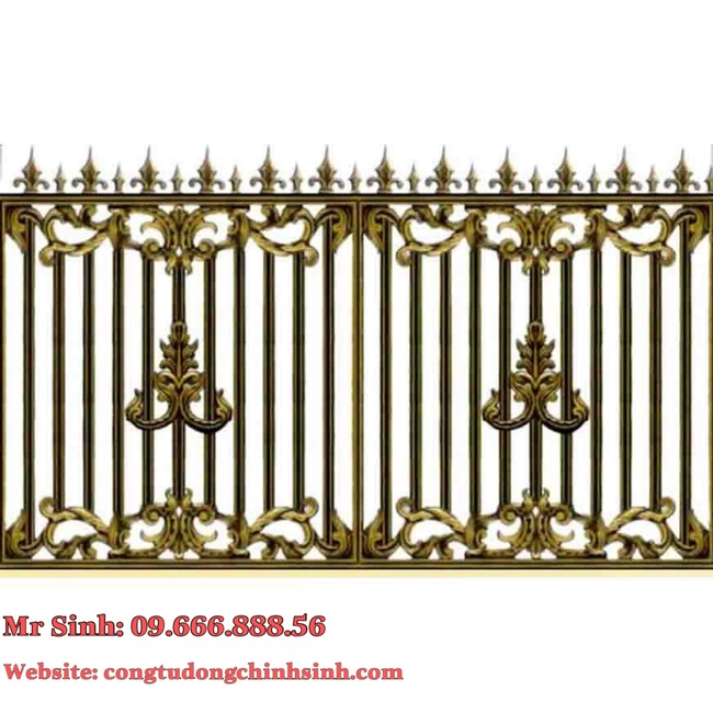 Hàng rào nhôm đúc - HR0052