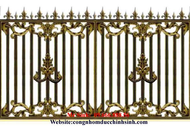 Hàng rào nhôm đúc - HR0034
