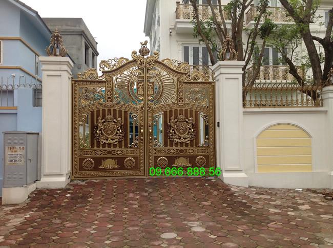 cổng nhôm đúc - C0048
