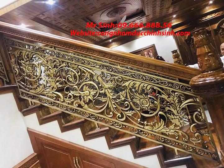 Cầu thang nhôm đúc - CT009