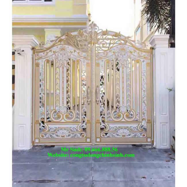 cổng nhôm đúc - C0095