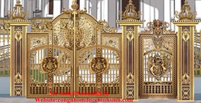 cổng nhôm đúc - C0094