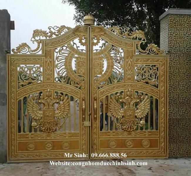 cổng nhôm đúc - C00120