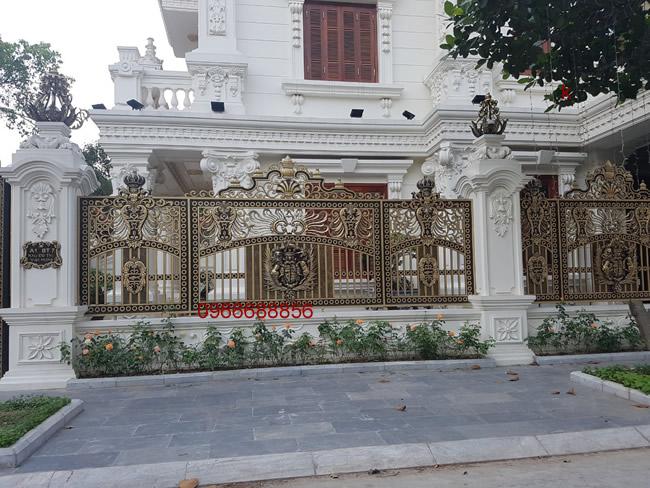 Hàng rào nhôm đúc - HR0014