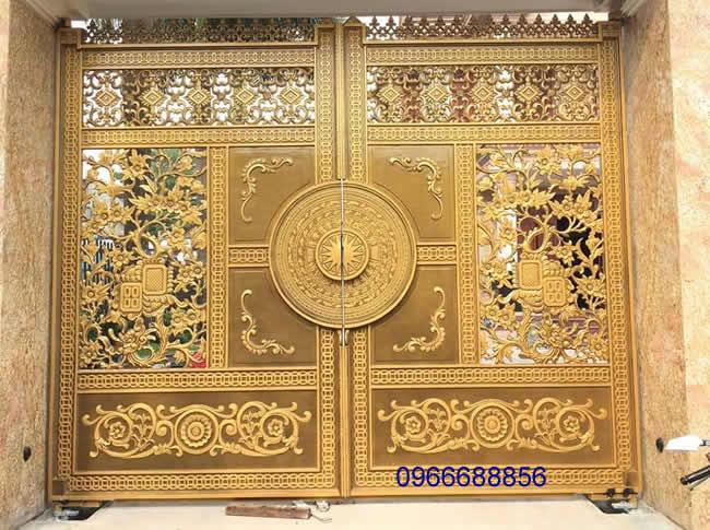 cổng nhôm đúc - C0044
