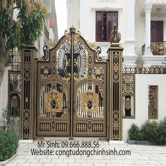 cổng nhôm đúc - C00127