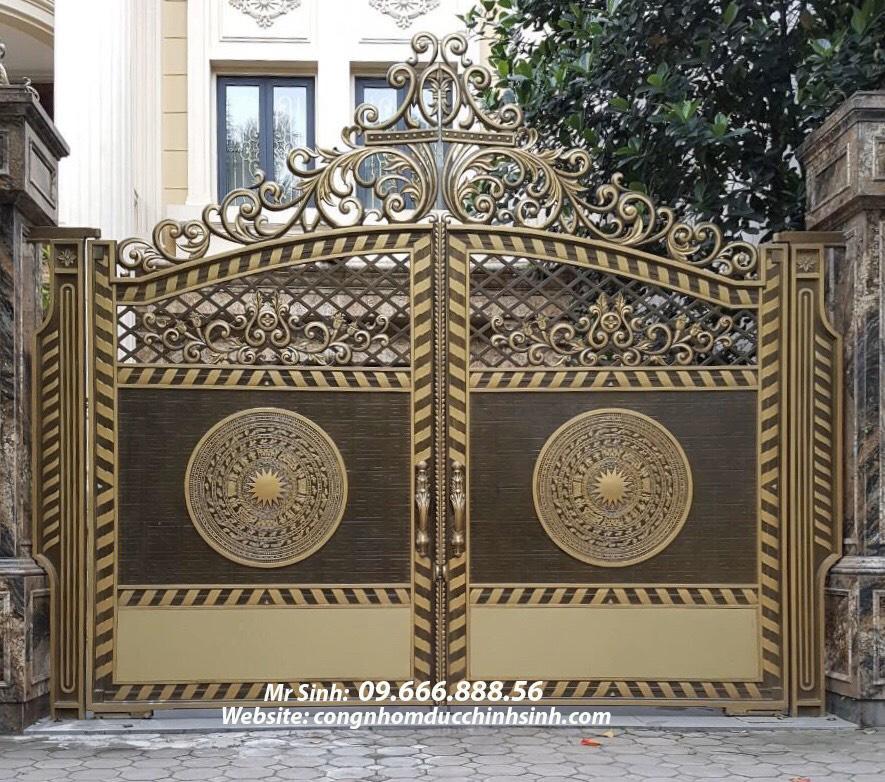cổng nhôm đúc - C00160