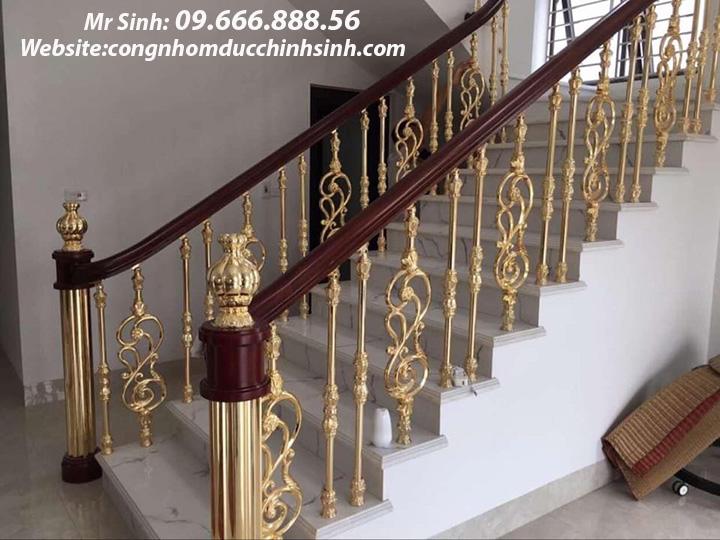 Cầu thang nhôm đúc - CT008