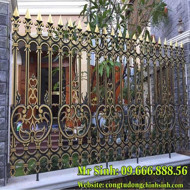 Hàng rào nhôm đúc - HR0054