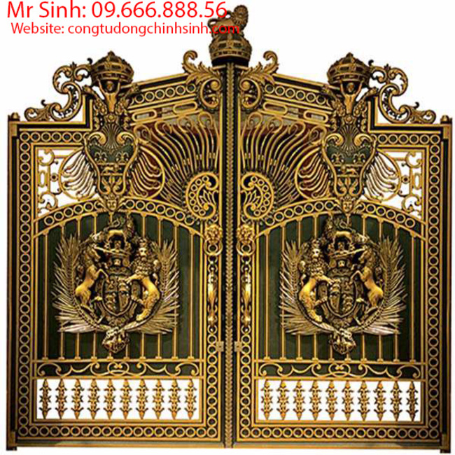 cổng nhôm đúc - C00130