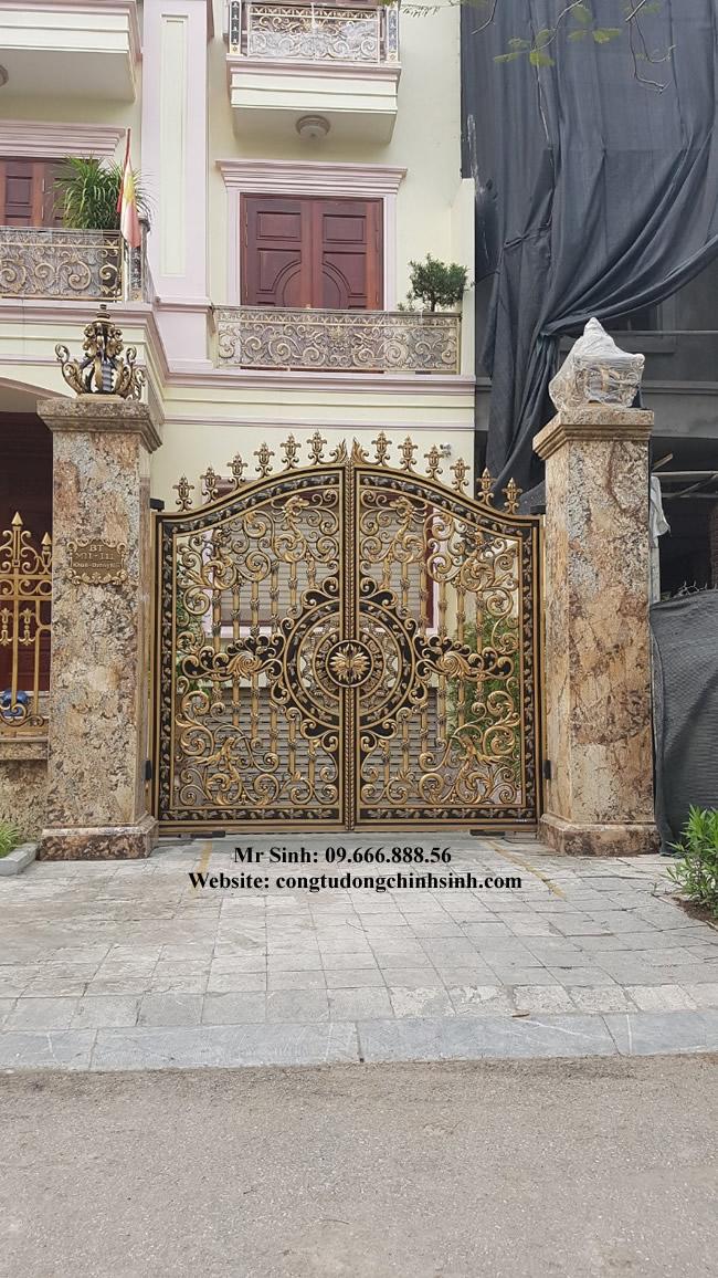 cổng nhôm đúc - C0087