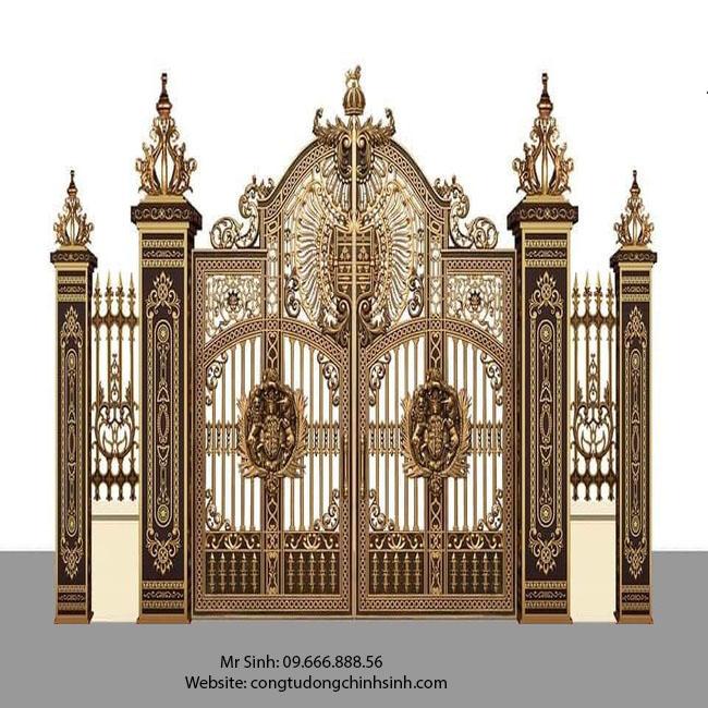 cổng nhôm đúc - C00124