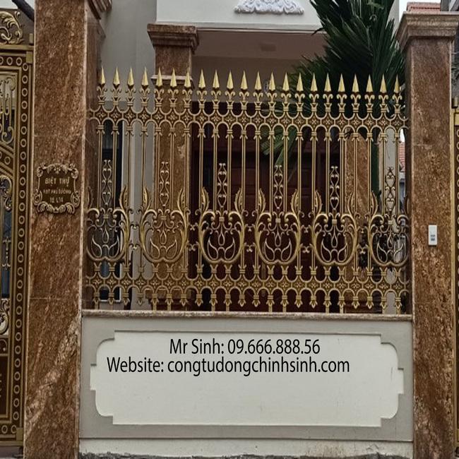 Hàng rào nhôm đúc - HR0047