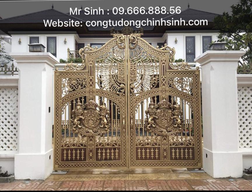 cổng nhôm đúc - C00163