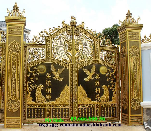 cổng nhôm đúc - C0080