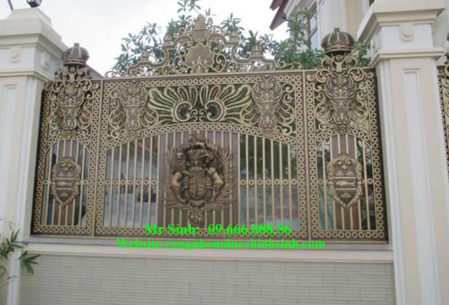 Hàng rào nhôm đúc - HR0039