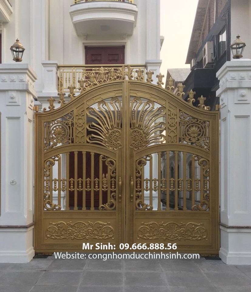 cổng nhôm đúc - C00138