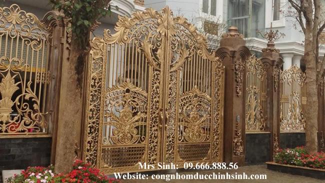 cổng nhôm đúc - C00104