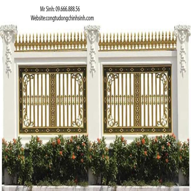 Hàng rào nhôm đúc - HR0048