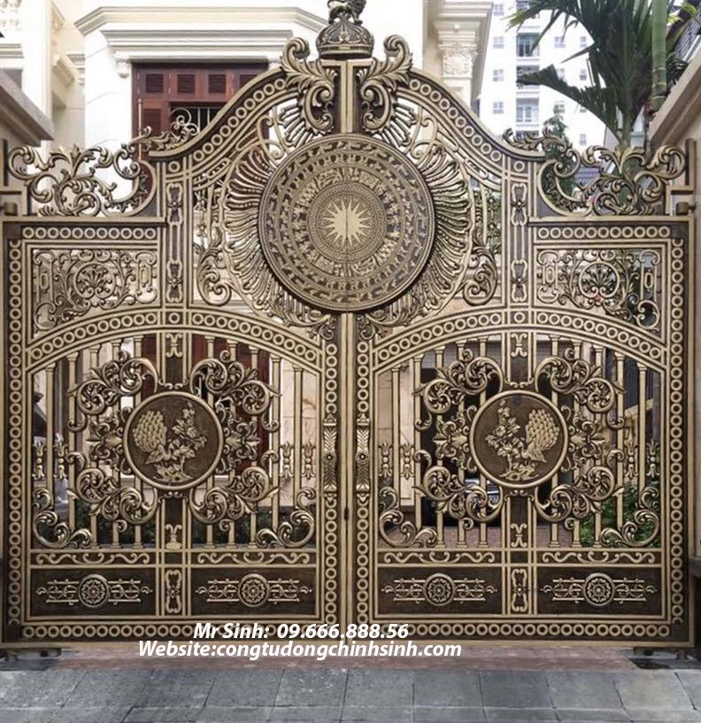cổng nhôm đúc - C00145