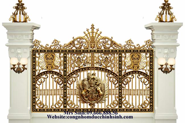 Hàng rào nhôm đúc - HR0033