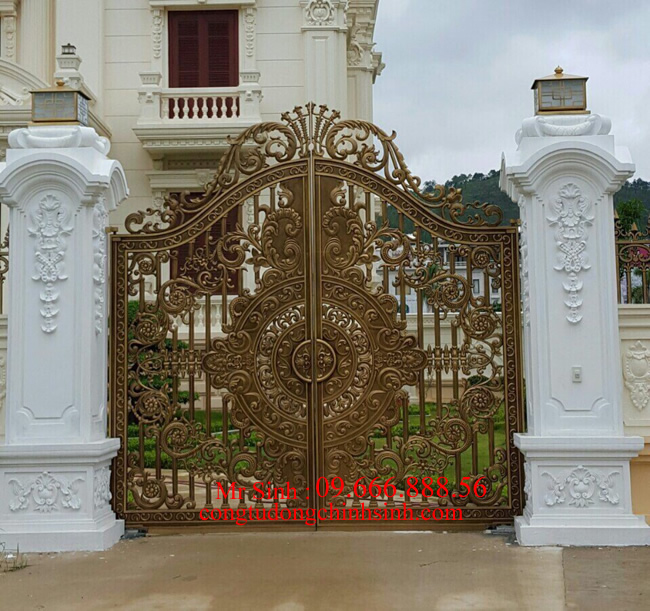 cổng nhôm đúc - C0075