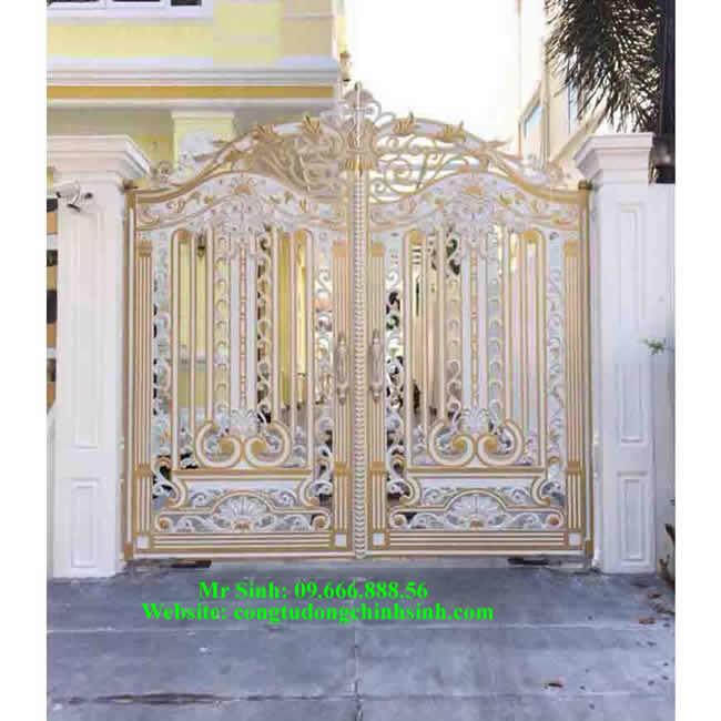 cổng nhôm đúc - C00115