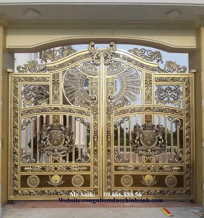 cổng nhôm đúc - C00122
