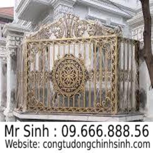 Hàng rào nhôm đúc - HR0082