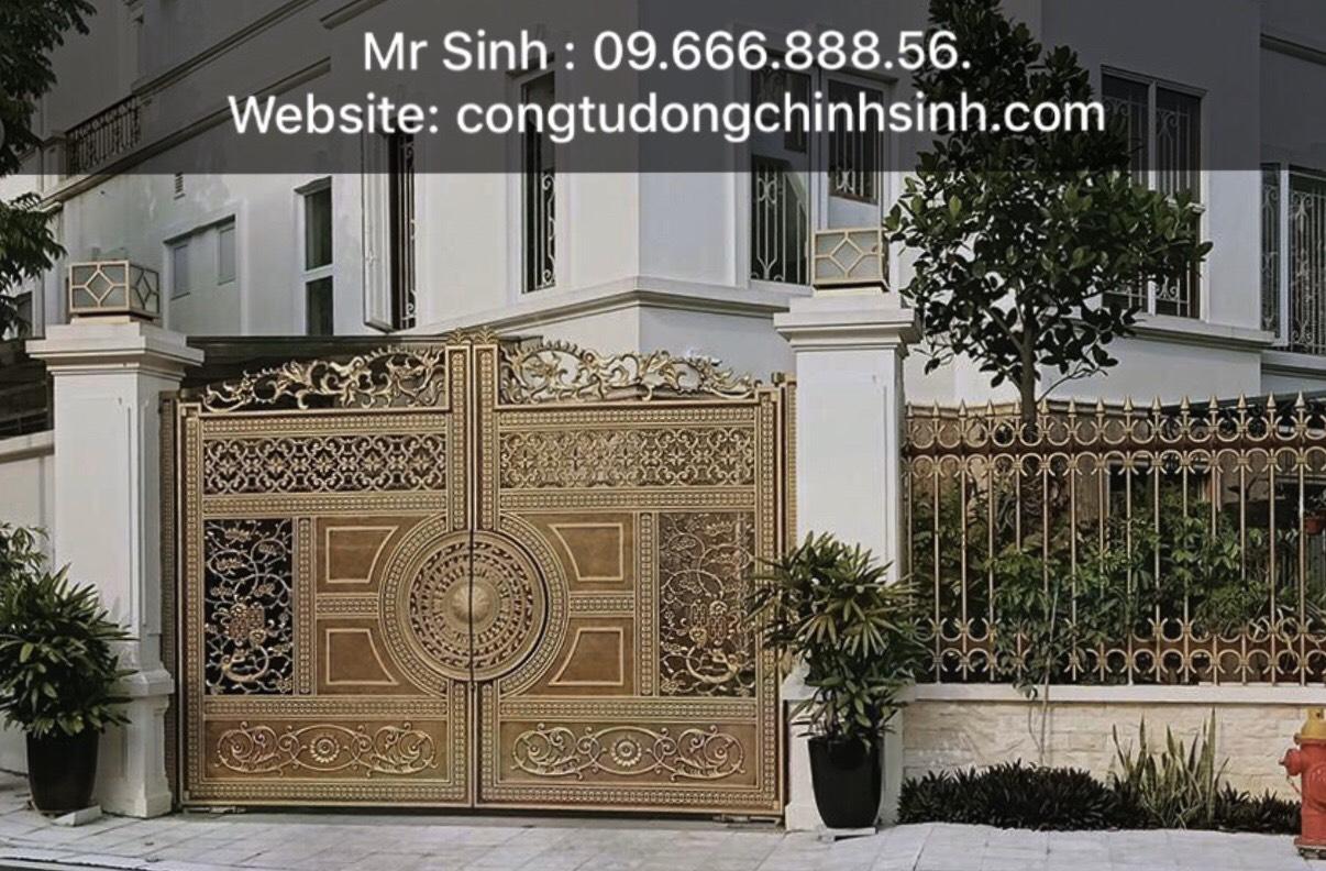 cổng nhôm đúc - C00162