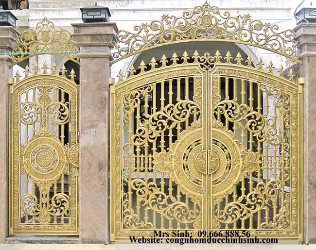cổng nhôm đúc - C00103