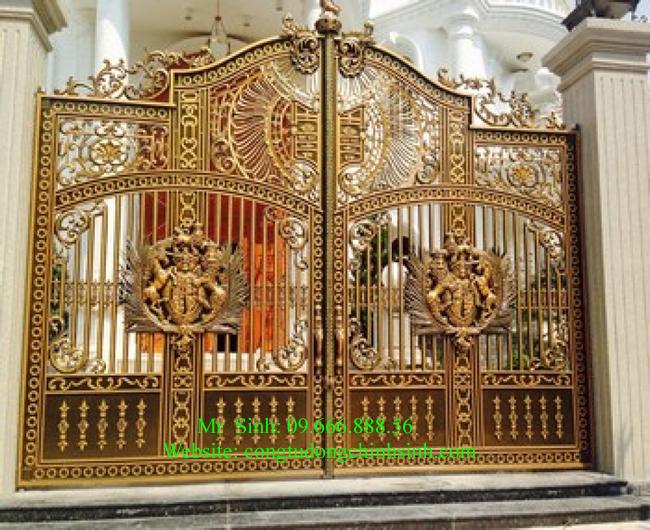 cổng nhôm đúc - C0069