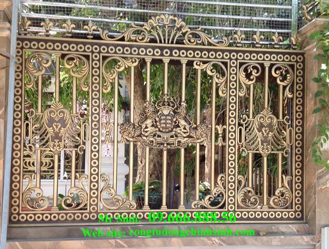 Hàng rào nhôm đúc - HR0027