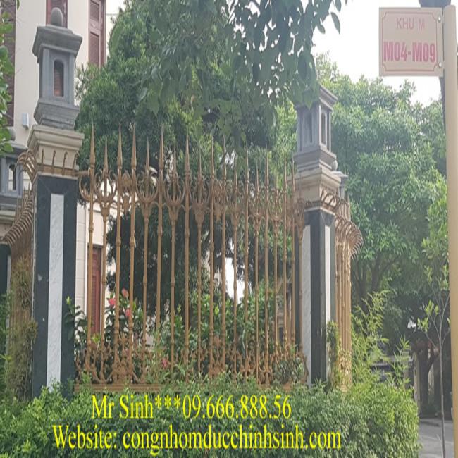 Hàng rào nhôm đúc - HR0049