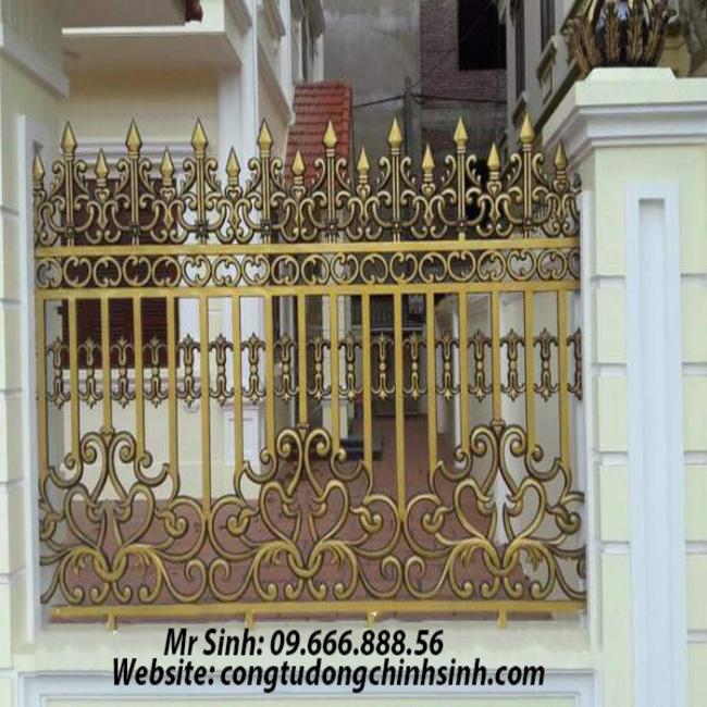 Hàng rào nhôm đúc - HR0064