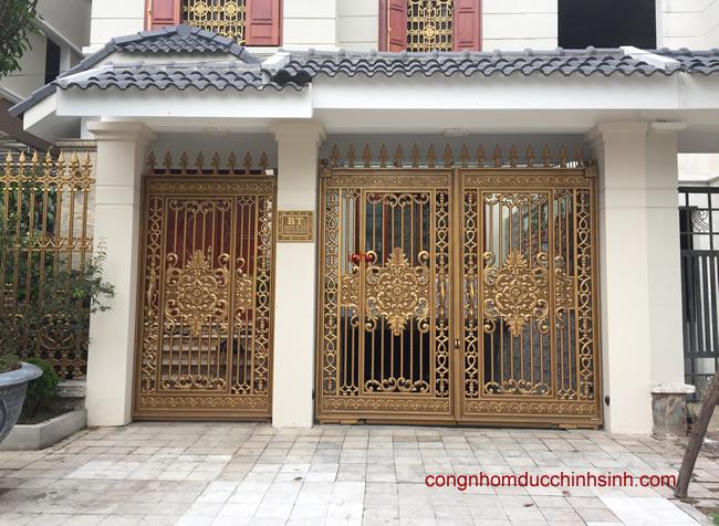 Cổng nhôm đúc - C0034