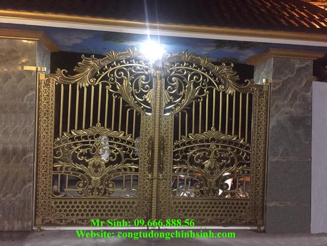 cổng nhôm đúc - C00112