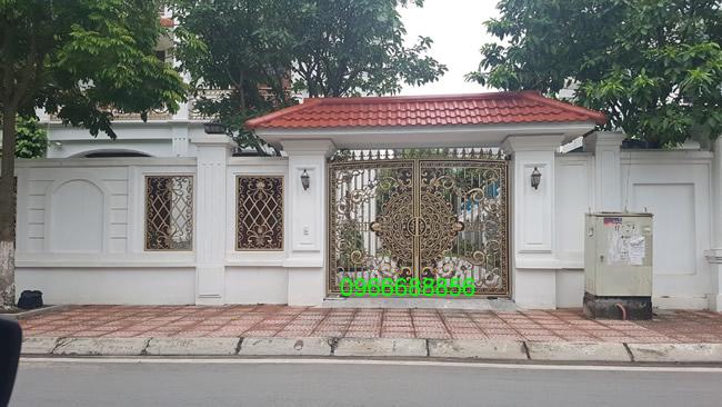cổng nhôm đúc - C0047