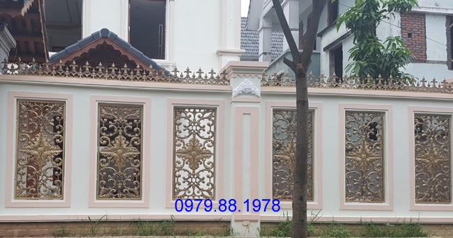 Hàng rào nhôm đúc - HR0018
