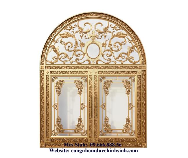cổng nhôm đúc - C00102