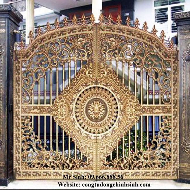 cổng nhôm đúc - C0096