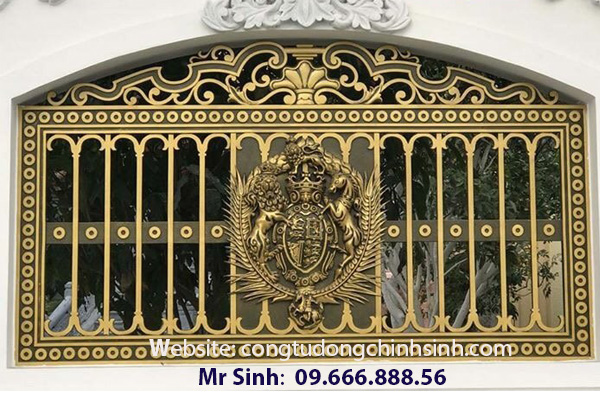 Hàng rào nhôm đúc - HR0059