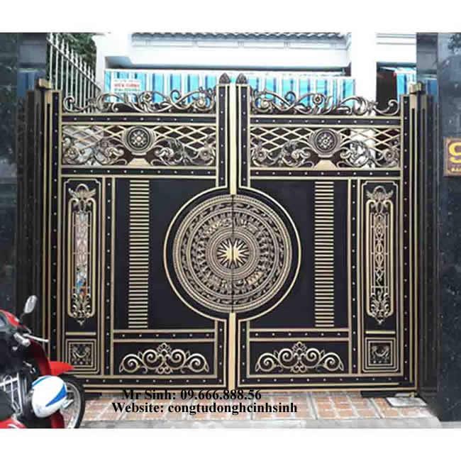 cổng nhôm đúc - C0089