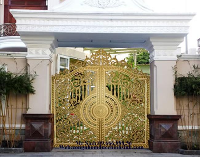 cổng nhôm đúc - C00121