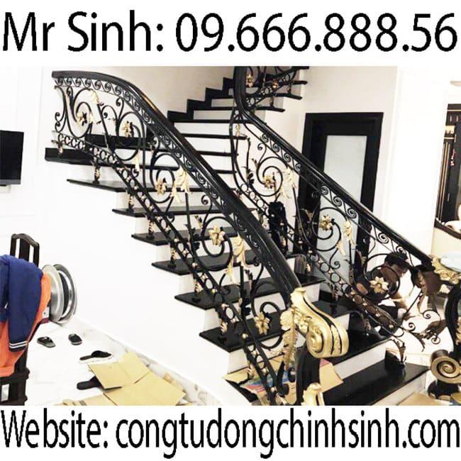 Cầu thang sắt nghệ thuật  - CT0037