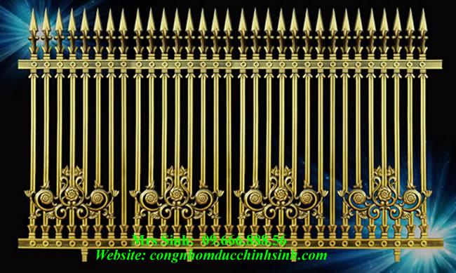 Hàng rào nhôm đúc - HR0031